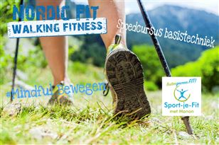 Nordic Walking kennismakingsles